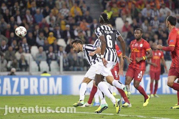 Mauvaise opération de la Juventus qui a été tenu en échec a domicil contre Galatasaray
