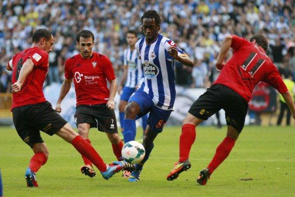 Le Deportivo n'a pas pu gagner en étant tenu en échec a domicil contre Mirandès