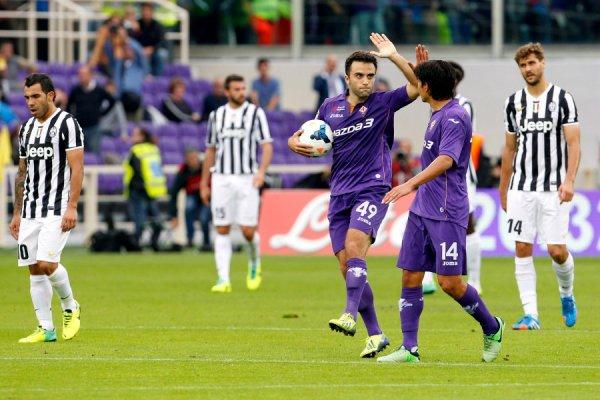 Grossse défaite de la Juventus qui s'incline lourdement sur la pelouse de la Fiorentina