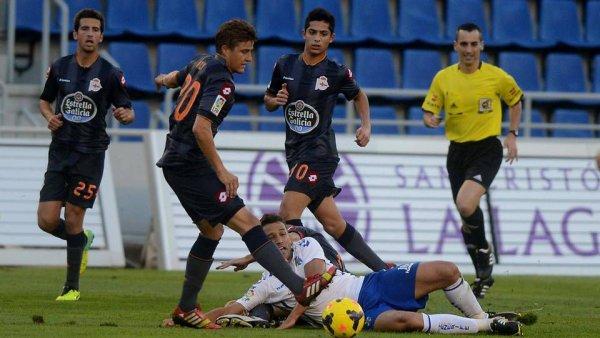 Le Deportivo s'écroule complétement en perdant lourdement sur la pelouse de Tenerife