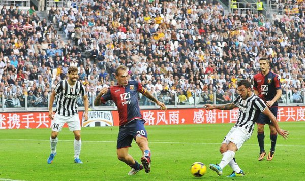 La Juventus remporte facilement son match en s'imposant contre Genoa