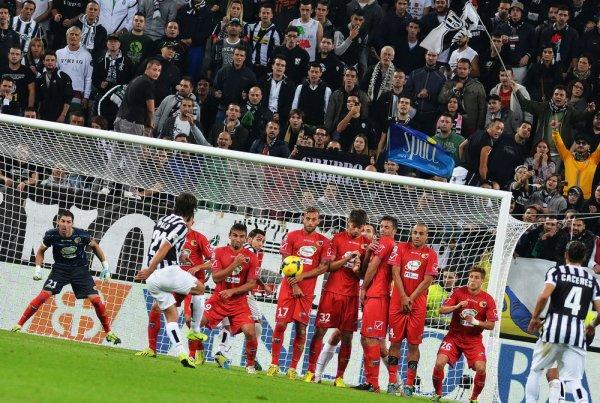 Victoire écrasante et mérité de la Juventus  contre Catane à la Juventus Stadium