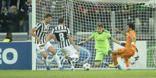 La Juventus a eu le mérite de ne pas perdre contre le Real Madrid au Juventus Stadium