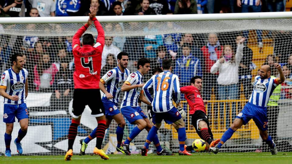 Très bonne opération du  Deportivo qui s'impose facilement contre Mallorca à Riazor