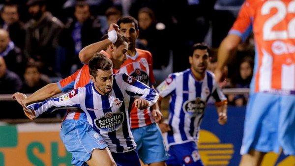 Le Deportivo a été tenu en échec à domicil contre Lugo dans le stade de Riazor