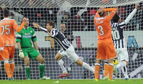 La Juventus s'est imposé difficilement contre l'Udinese à la Juventus Stadium