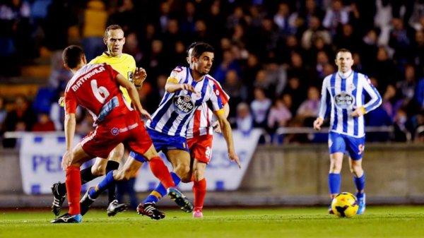 Mauvaise opération du Deportivo qui a été tenu en échec contre Girona à Riazor