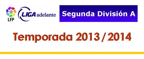 Les résultats finals de la 22 journées de la Liga Adelante 2013-2014