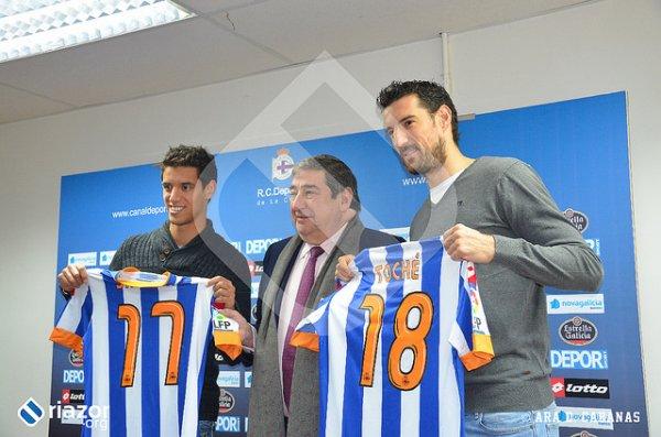 Toché et Salomao nouveau joueur pour le Deportivo du marchée des transferts hivernal
