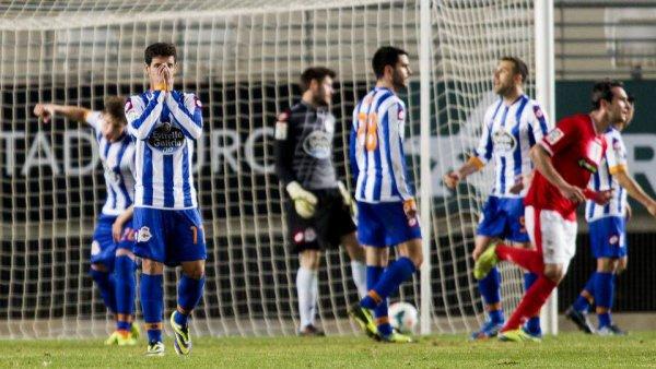 Une défaite honteuse de la part du Deportivo sur la pelouse de Murcia