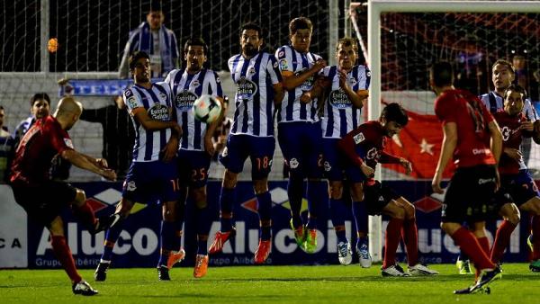 Défaite injuste du Deportivo qui fait la mauvaise opération sur la pelouse de Mirandés.