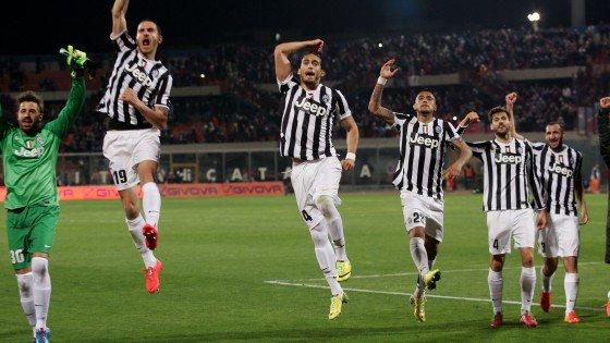 La Juventus a obtenu une victoire souffrante sur la pelouse de Catane.