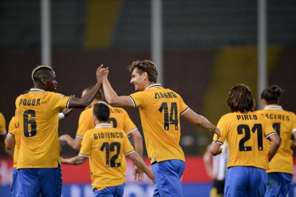 La Juventus a fait une bonne opération en s'imposant sur la pelouse de l'Udinese