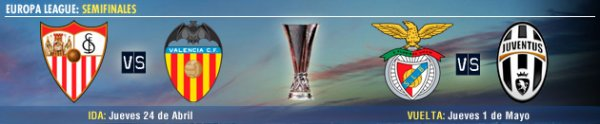 Je vous présente le tirage au sort des demis-final de l'Europe League 2013-2014