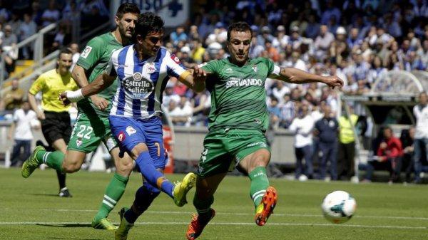 Le Deportivo obtient un bon point précieux à domicil contre l'Eibar à Riazor.
