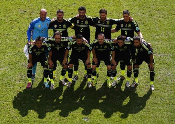Le Groupe B de l'Espagne pour la Coupe du Monde en brésil 2014.