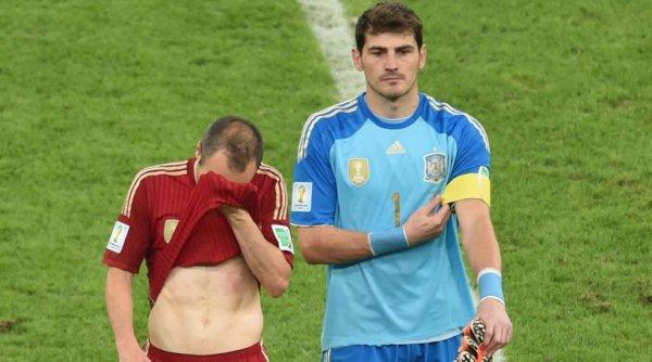 C'est la fin d'un beau sicle de l'Espagne qui s'incline contre le Chili et la Roja est éliminé.