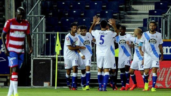 Le Deportivo débute mal son retour à la Liga BBVA en perdant sur la pelouse de Granada
