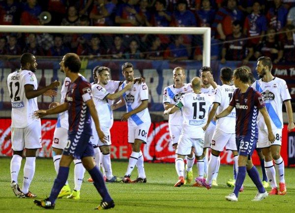 Le Deportivo remporte sa 1 victoire de la saison en s'imposant sur la pelouse de Eibar.
