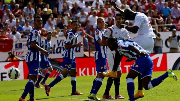 Le Deportivo est dans une situation compliqué et difficile en perdant lourdement à Sevilla.