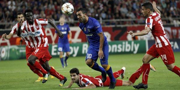 Mauvaise opération de la Juventus qui s'est incliné sur la pelouse de l'Olympiakos.