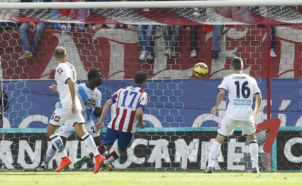 Défaite logique du Deportivo sur la pelouse de l'Atlético de Madrid Vamos Super Depor.
