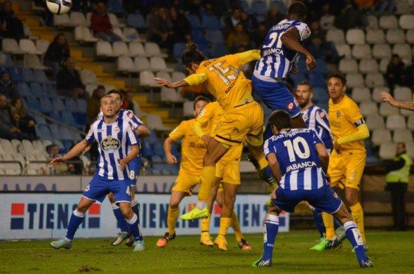 Le Deportivo fait une mauvaise opération en étant tenu en échec à domicil contre Malaga