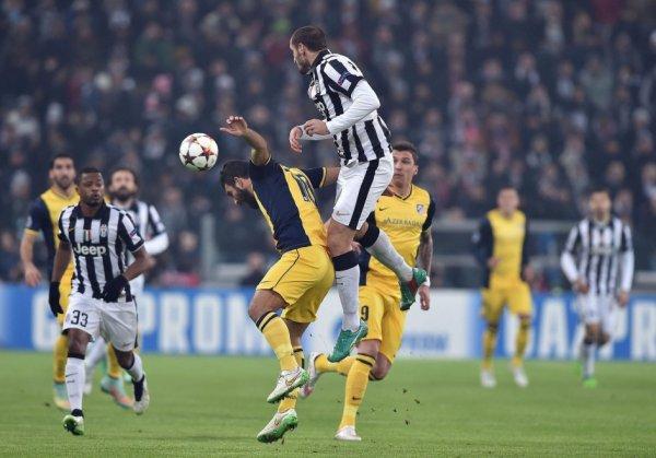 La Juventus a fait l'essentiel pour faire un match nul contre l'Atlético pour se qualifier.