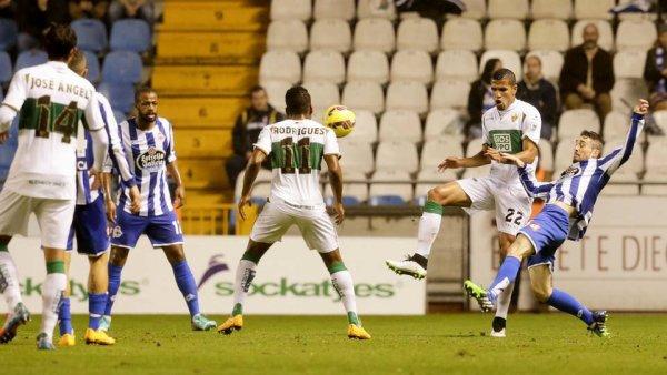 Le Deportivo retrouve le chemin du succès en s'imposant à domicil contre l'Elche