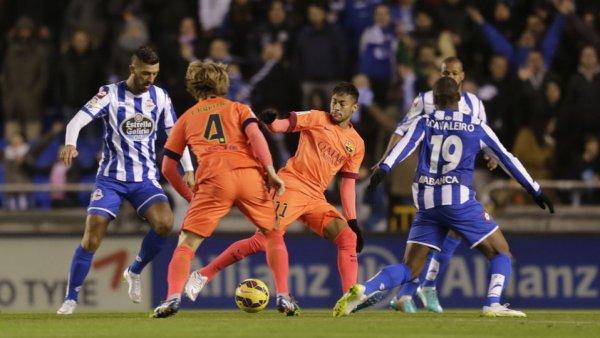 Défaite logique du Deportivo qui n'a rien pu faire contre le grand Barcelona à Riazor.