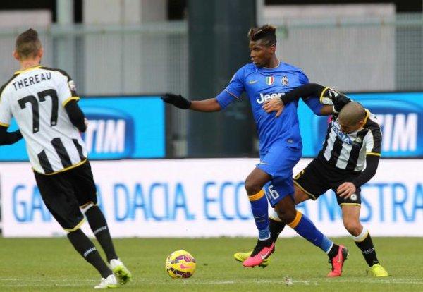 La Juventus n'a pas pu gagner en étant tenu en échec sur la pelouse de l'Udinese.