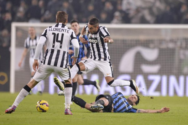 Une victoire souffrante de la Juventus à domicil contre l'Atalanta à la Juventus Stadium.