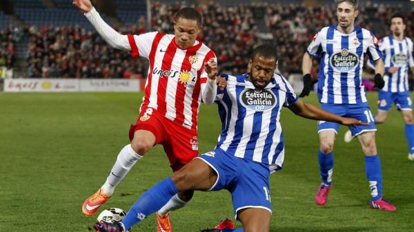 Le Deportivo ramène un bon point de son déplacement sur la pelouse de l'Almeria.