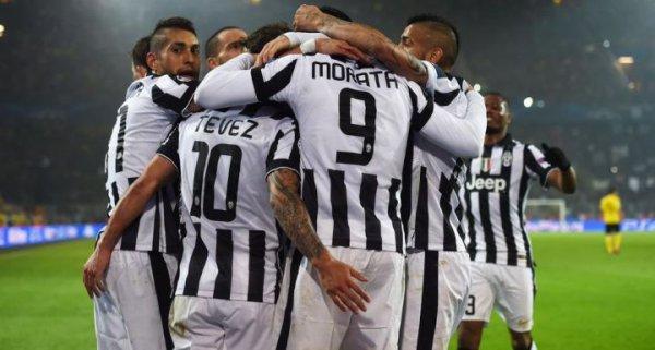 La Juventus s'est qualifié en quart de final en gagnant sur la pelouse de Dortmund.