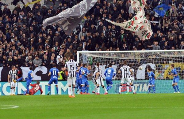 Une victoire difficile et compliqué de la Juventus à domicil contre l'Empoli.