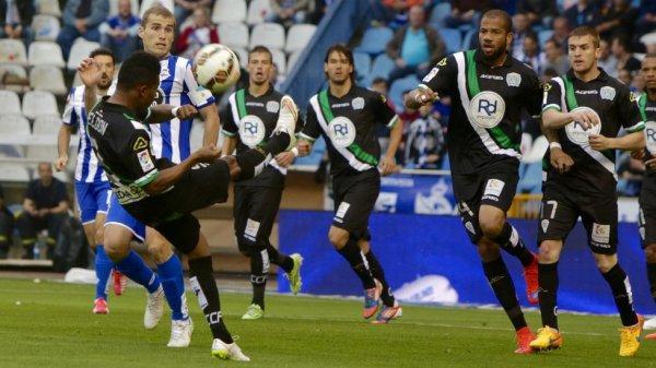 El Deportivo empato en su proprio campo contra el Cordoba en el estadio de Riazor.