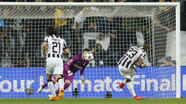 Victoire compliqué et difficile de la Juventus à domicil contre l'équipe de Monaco
