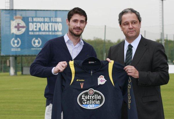 Víctor Sánchez del Amo es el nuevo entrenador del Deportivo La Coruña.