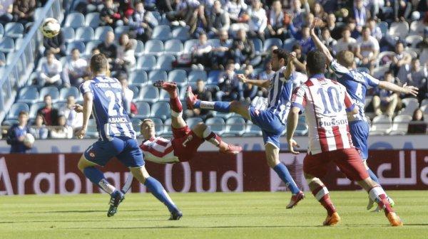 El Deportivo perdio en su campo contra el Atlético de Madrid en el estadio de Riazor.