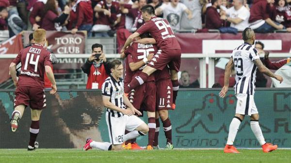 Défaite suprenante de la Juventus qui s'est incliné à Torino pour le derby.