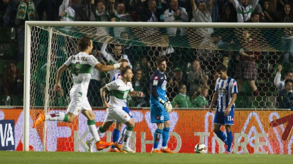 Mala imagen del Deportivo que cayo derrotado en el campo del Elche.
