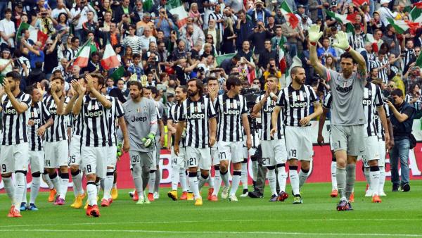 Magnifique victoire de la Juventus à domicil contre l'équipe de Napoli.