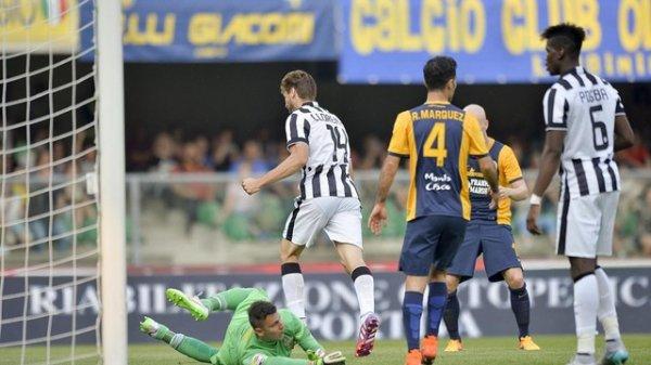 Pour son dernier match de la saison de la Sérrie A la Juventus a fait match nul à Vérone.