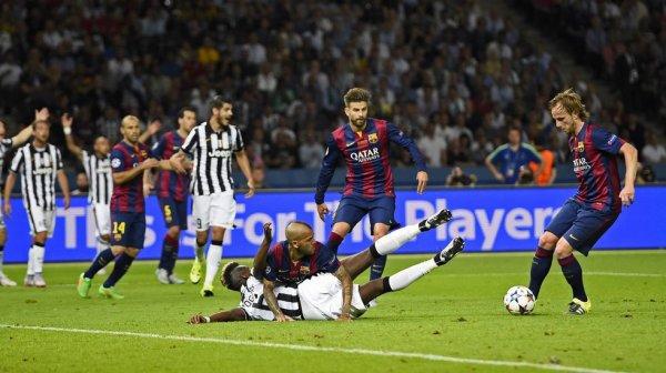 La Juventus n'a pas pu remporter la Ligue des Champions contre un grand Barcelona.