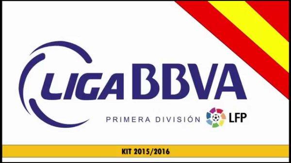Les résultats finals de la 1 journées de la Liga BBVA 2015-2016.