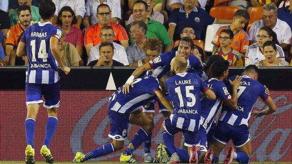 Le Deportivo obtient un bon point précieux acquis sur la pelouse de Valencia.
