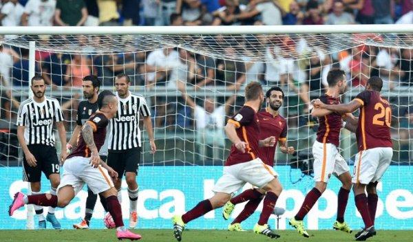 Deuxième défaite affilé pour la Juventus qui a perdu sur la pelouse de la Roma