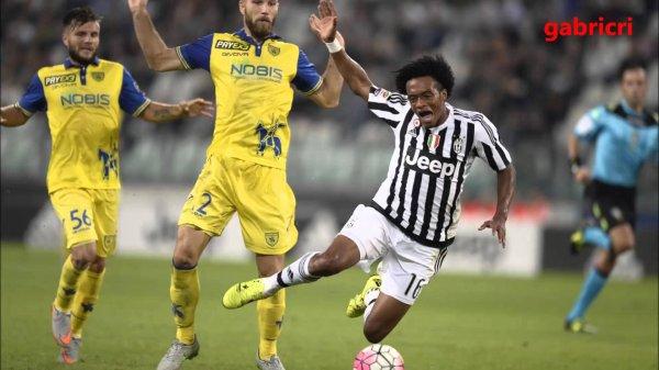 La Juventus a pu sauver l'honneur en faisant match nul à domicil contre le Chievo.