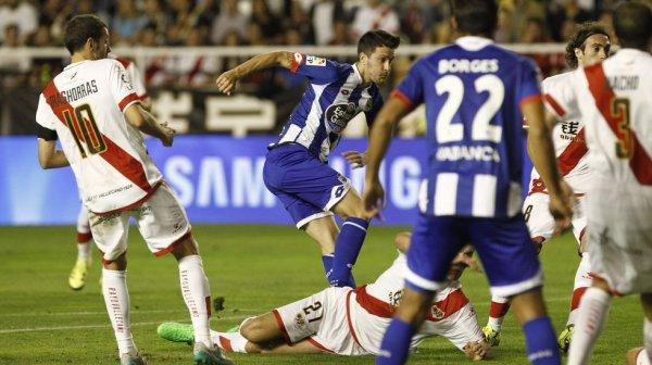 Le Deportivo empoche sa 1 victoire de la saison en s'imposant sur la pelouse de Rayo.