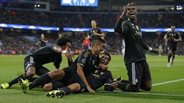 Magnifique exploit de la Juventus qui s'est imposé sur la pelouse de Manchester City.